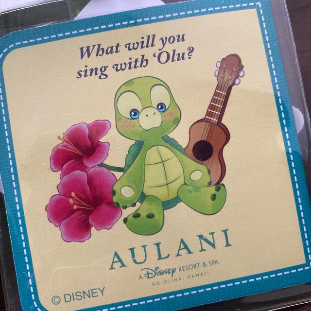 Disney(ディズニー)のOLU(オル) アウラニ限定 ぬいぐるみ エンタメ/ホビーのおもちゃ/ぬいぐるみ(ぬいぐるみ)の商品写真