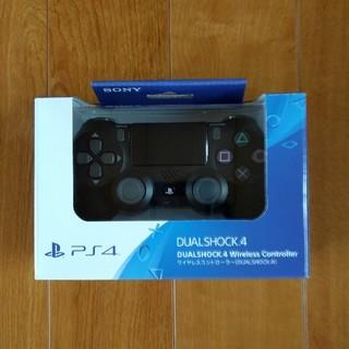 ソニー(SONY)の【新品 保証あり】純正 PS4 ワイヤレスコントローラー デュアルショック4(家庭用ゲーム機本体)