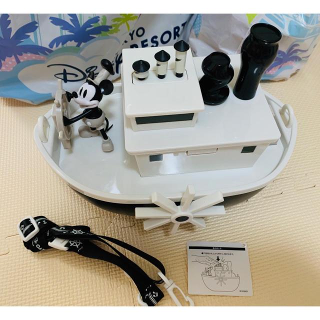 Disney(ディズニー)の蒸気船ウィリー ポップコーンバケット ディズニーリゾート ミッキー エンタメ/ホビーのおもちゃ/ぬいぐるみ(キャラクターグッズ)の商品写真