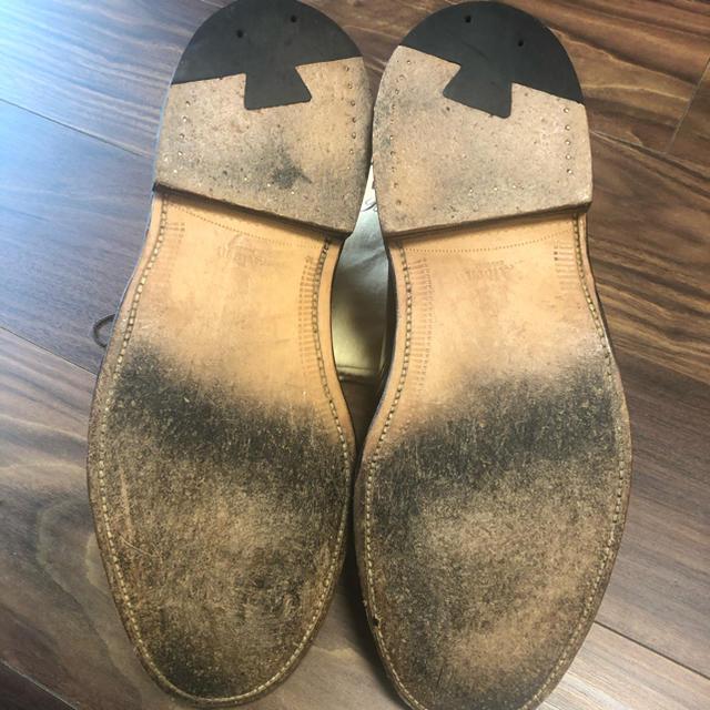 Alden(オールデン)のオールデン シェルコードバン チャッカブーツ バーガンディー1339  8.5E メンズの靴/シューズ(ブーツ)の商品写真