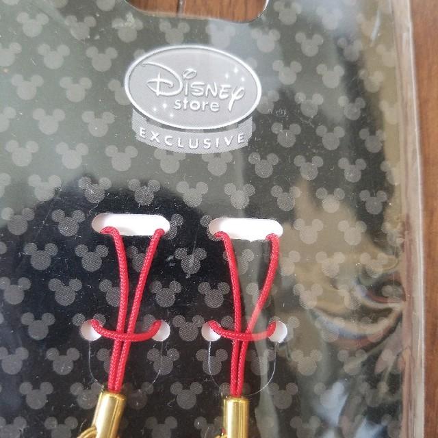 Disney(ディズニー)のディズニー ペアストラップ 新品未使用品 ディズニーストア エンタメ/ホビーのアニメグッズ(ストラップ)の商品写真