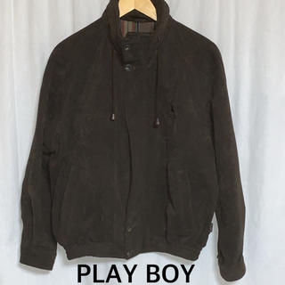 プレイボーイ(PLAYBOY)の美品 PLAY BOY ワンポイント刺繍ジャケット ユニセックス(ブルゾン)
