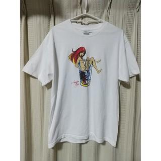 アカプルコゴールド(ACAPULCO GOLD)のAcapulcogold ガール 半袖Tシャツ Lサイズ 白 アカプルコゴールド(Tシャツ/カットソー(半袖/袖なし))