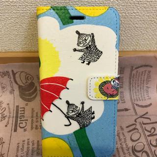 マリメッコ(marimekko)のiPhone 7/8 スマホケース 手帳型 ムーミン マリメッコ リトルミイ(iPhoneケース)