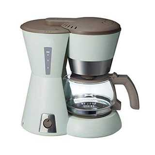 グリーンBRUNO 4 カップコーヒーメーカー My Little シリーズ B