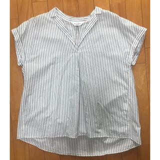 FRAMeWORK - お家で洗える!フレームワークス カットソー ブラウス 半袖シャツ リネン 麻