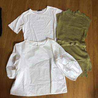 シマムラ(しまむら)の3点セット しまむら(Tシャツ(半袖/袖なし))
