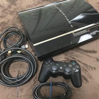 プレイステーション3(PlayStation3)の【ジャンク】PS3本体とソフト4本セット(家庭用ゲーム機本体)