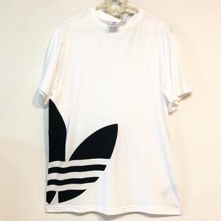 adidas - アディダス オリジナルス ビッグロゴ Tシャツ ADIDAS 新品 半袖ホワイト