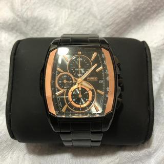 セイコー(SEIKO)のメンズ腕時計 WIRED 電池新品! 美品 SEIKO(腕時計(アナログ))