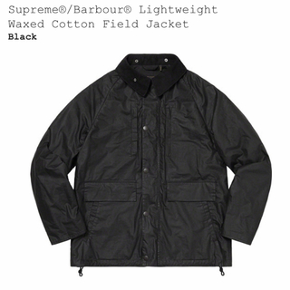 Supreme - Supreme Barbour Waxed Field Jacket  黒S