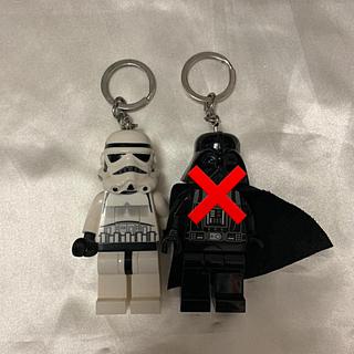 レゴ(Lego)のレゴ スターウォーズ ストームトルーパー ダースベイダー キーホルダー2個セット(SF/ファンタジー/ホラー)