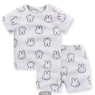 UNIQLO - 新品 うさぎ柄 miffy 半袖 パジャマ 80