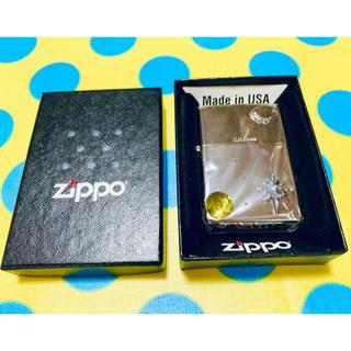 ジッポー(ZIPPO)の新品◆ZIPPO シルバー クロス メタル ジッポー(タバコグッズ)
