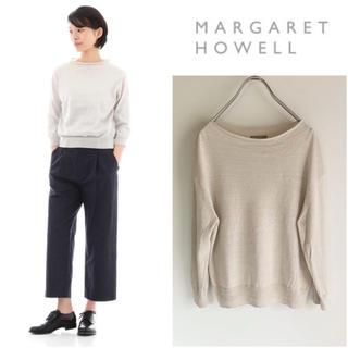 MARGARET HOWELL - 美品 19ss マーガレットハウエル リネンコットンニット サイズ2 MHL.