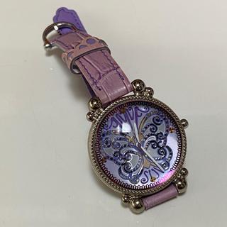 アナスイ(ANNA SUI)のANNA SUI アナスイ 腕時計 パープル 紫 革ベルト(その他)
