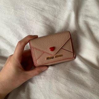 miumiu - ラブレターお財布