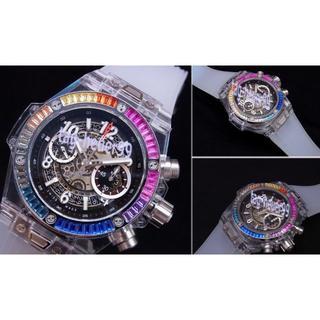 ウブロ(HUBLOT)のtomonari様専用H製 V2 UNICO Magic レインボーBOX2個 (腕時計(アナログ))