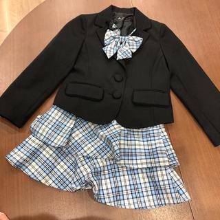 ムージョンジョン(mou jon jon)の女の子 スーツ Moujonjon 120 卒園式 入園式(ドレス/フォーマル)