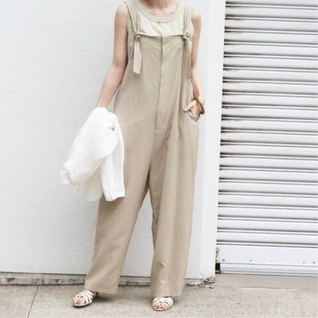 IENA(イエナ)のRy/Ny サロペット レディースのパンツ(サロペット/オーバーオール)の商品写真