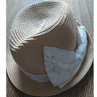 ジーユー(GU)の★綺麗★gu女のコ 麦わら帽子(帽子)