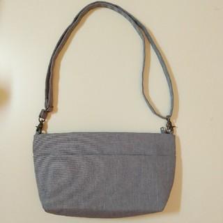 ムジルシリョウヒン(MUJI (無印良品))の美品🌟無印良品 ショルダーバッグ グレー(ショルダーバッグ)