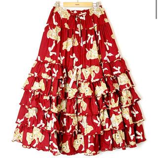PINK HOUSE - リボンテディスカート