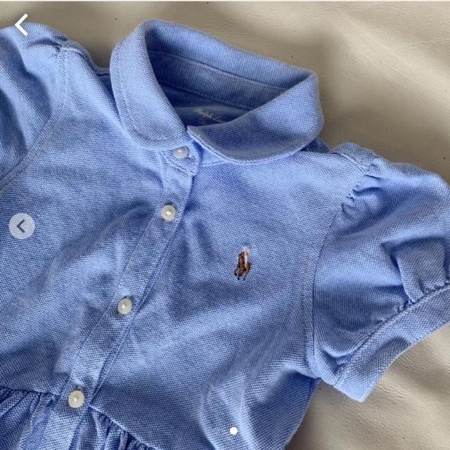 Ralph Lauren(ラルフローレン)のラルフローレン ワンピース 18M キッズ/ベビー/マタニティのキッズ服女の子用(90cm~)(ワンピース)の商品写真