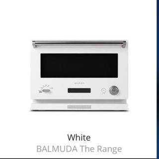 バルミューダ(BALMUDA)のバルミューダ オーブンレンジ ホワイト(電子レンジ)