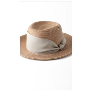 トゥモローランド(TOMORROWLAND)のark様専用 セール!アシーナニューヨーク カミラ(麦わら帽子/ストローハット)
