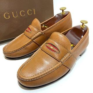 グッチ(Gucci)の◎オールド【GUCCI】約25.5cm ビジネスシューズ 革靴 フルサドル 男性(ドレス/ビジネス)