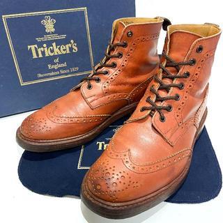 トリッカーズ(Trickers)の◎カントリーブーツ【Tricker's】約27cm 革靴 メンズ 男性 紳士 皮(ブーツ)