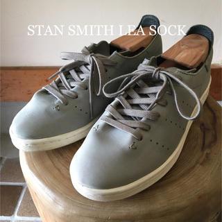 アディダス(adidas)の【一枚革仕様】STAN SMITH LEA SOCK (スニーカー)