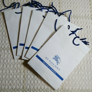 バーバリーブルーレーベル(BURBERRY BLUE LABEL)のBurberry Blue Label ショップ袋 5枚(ショップ袋)