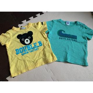 ダブルビー(DOUBLE.B)のTシャツ 80サイズ(Tシャツ)