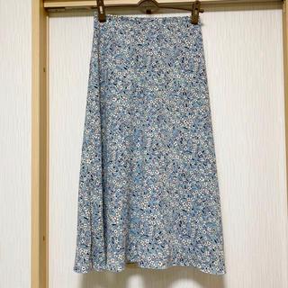 IENA - IENA  素敵な花柄ロングスカート