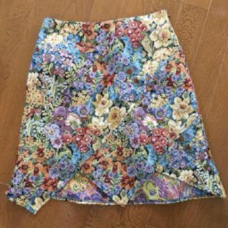 ZARA - ♡本日限定お値下♡ セレクトショップ購入 花柄 ゴブラン織 スカート♡