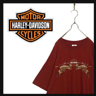 Harley Davidson - HARLEY-DAVIDSON ハーレーダビッドソン オーバーサイズ Tシャツ