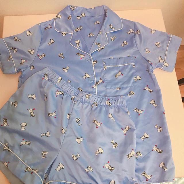 GU(ジーユー)のGU スヌーピー パジャマ レディースのルームウェア/パジャマ(パジャマ)の商品写真