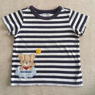 (80)ミキハウス Tシャツ