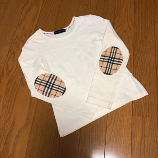 BURBERRY - バーバリー エルボーパッチ長袖Tシャツ