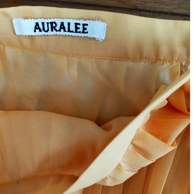 COMOLI(コモリ)のオーラリー プリーツスカート レディースのスカート(ロングスカート)の商品写真