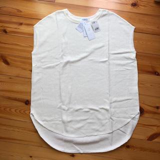 GLOBAL WORK - 新品タグ付き GLOBAL WORK UVプロテクトワッフル素材Tシャツ