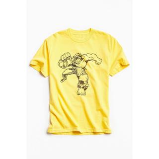 ネイバーフッド(NEIGHBORHOOD)のMARVEL x Kostas split hulk Tシャツ ネイバーフッド(Tシャツ/カットソー(半袖/袖なし))