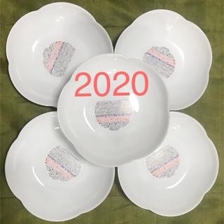 ヤマザキセイパン(山崎製パン)のヤマザキ 春のパン祭り 2020と2019年新品未使用お皿各5枚(食器)
