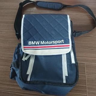ビーエムダブリュー(BMW)のBMW モータスポーツ ワンショルダー 保冷バックエコ ペットボトルホルダー(車内アクセサリ)
