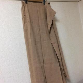 フォーティーファイブアールピーエム(45rpm)の45rpm   リネン  マキシ巻きスカート(ロングスカート)