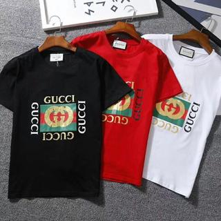Gucci - 【2枚7000円送料込み】GUCCI ロゴ プリント Tシャツ