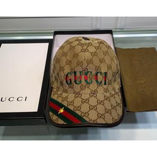 Gucci - GUCCI☆キャップ美品!