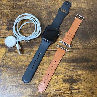 アップルウォッチ(Apple Watch)のApplewatch series4 セラミック×アルミ(腕時計(デジタル))